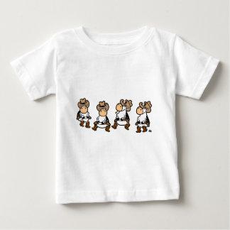 Line dance Cow Baby T-Shirt