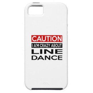 LINE DANCE CRAZY DESIGNS TOUGH iPhone 5 CASE