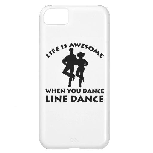 line dance design case for iPhone 5C