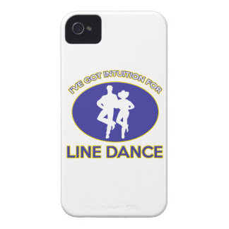line dance design iPhone 4 cover