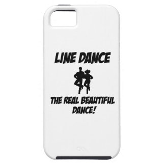 line dance design iPhone 5 cover
