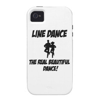 line dance design case for the iPhone 4
