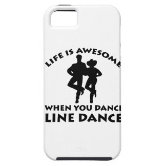 line dance design iPhone 5 covers