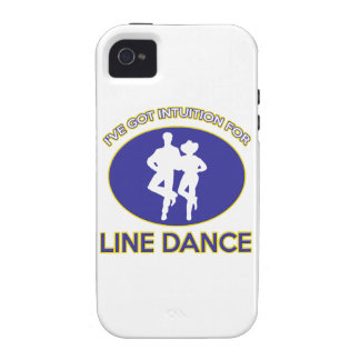 line dance design iPhone 4/4S cover