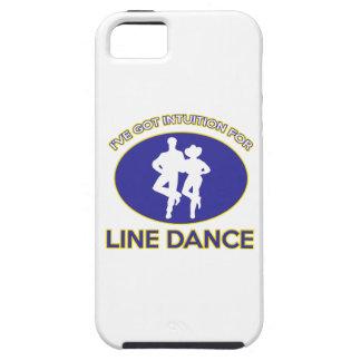 line dance design iPhone 5 case