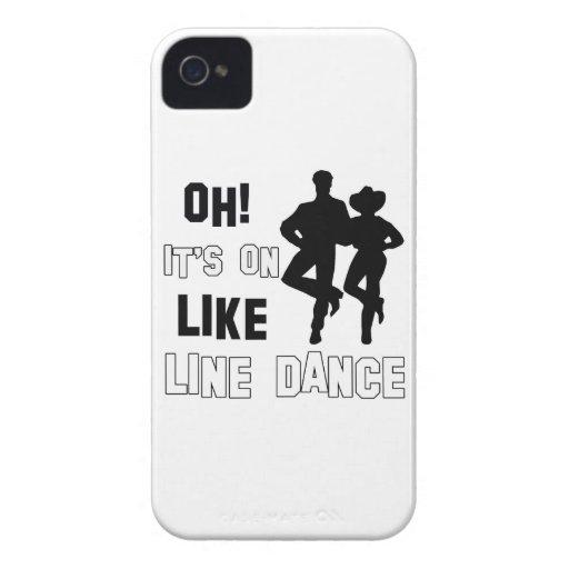 Line Dance Designs iPhone 4 Case-Mate Case