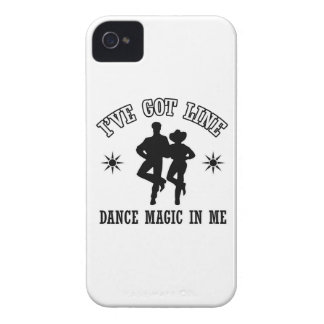 Line Dance Designs iPhone 4 Cover