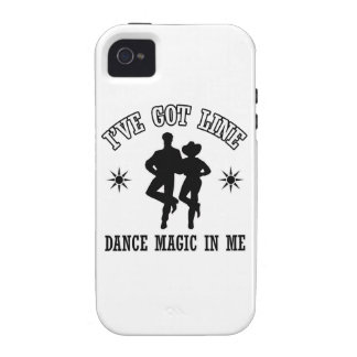 Line Dance Designs iPhone 4 Covers