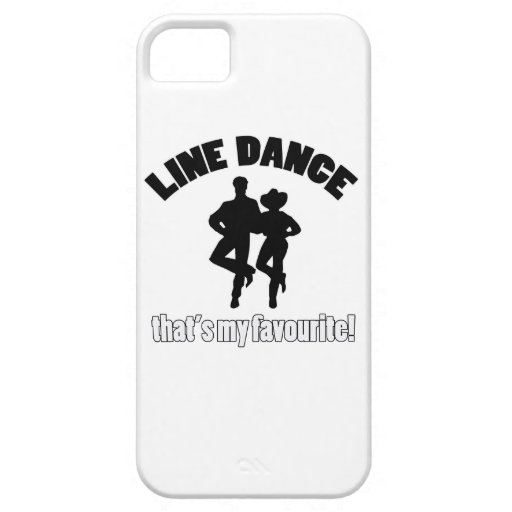 Line dance designs iPhone 5/5S case