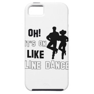 Line Dance Designs iPhone 5 Cover