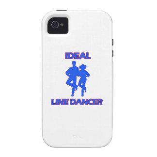 line dance designs iPhone 4 case