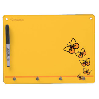 Line Dance Dry Erase Board With Key Ring Holder