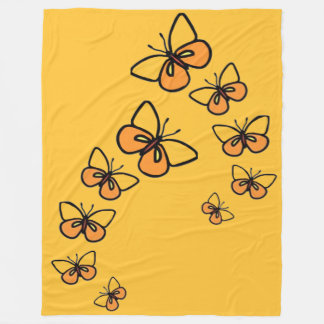 Line Dance Fleece Blanket