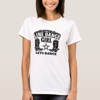 Line Dance Girl T-Shirt