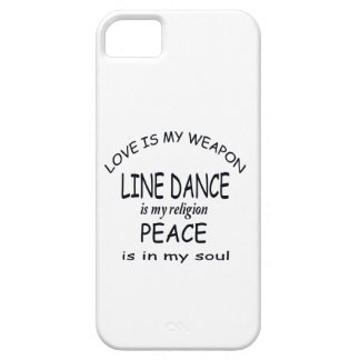 Line dance is my religion iPhone 5 covers