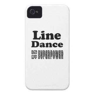 Line Dance Is My Superpower iPhone 4 Cover