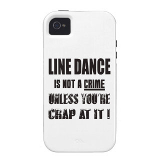 Line dance is not a crime iPhone 4/4S case