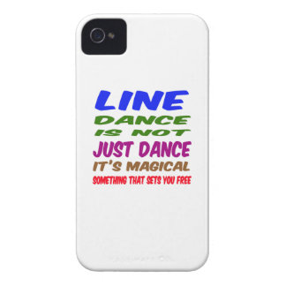Line Dance is not just dance It's magical iPhone 4 Cases