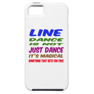 Line Dance is not just dance It's magical iPhone 5 Covers