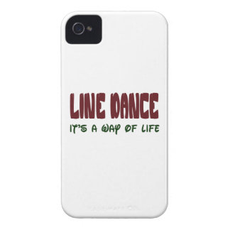 Line dance It's a way of life iPhone 4 Case-Mate Cases