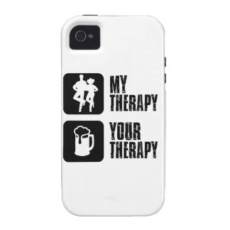 line dance my therapy iPhone 4/4S cases