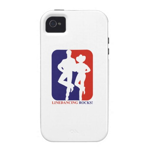 Line dance rocks designs vibe iPhone 4 cases