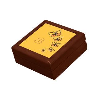Line Dance Small Square Gift Box