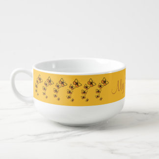 Line Dance Soup Mug