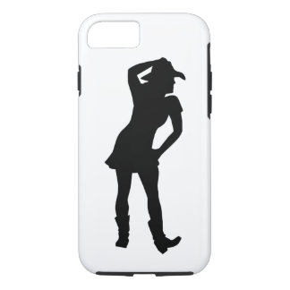 Line dance woman iPhone 7 case