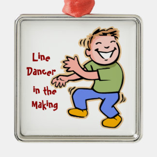 Line Dancer in the Making! (Boy) Christmas Tree Ornaments