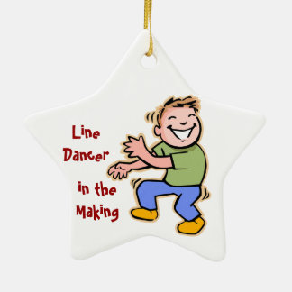 Line Dancer in the Making! (Boy) Ornaments