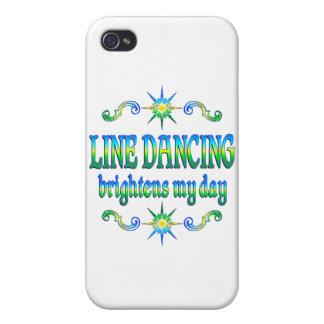 Line Dancing Brightens iPhone 4 Case