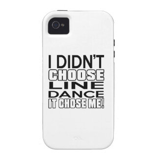LINE DANCING CHOSE ME DESIGNS Case-Mate iPhone 4 COVER