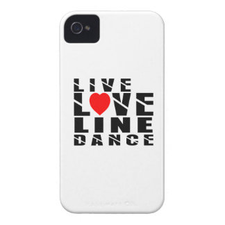 LINE DANCING Designs iPhone 4 Cover