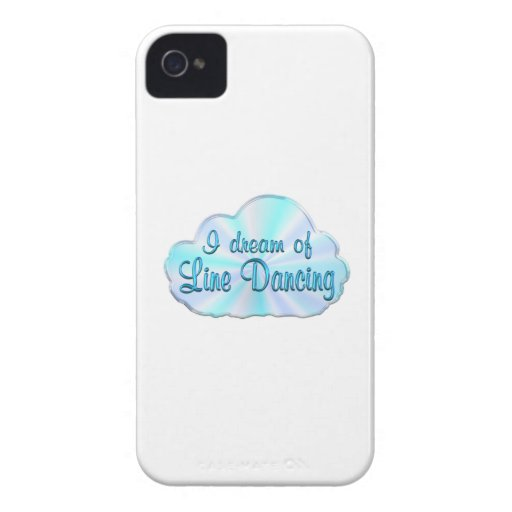 Line Dancing Dreamer iPhone 4 Case-Mate Cases