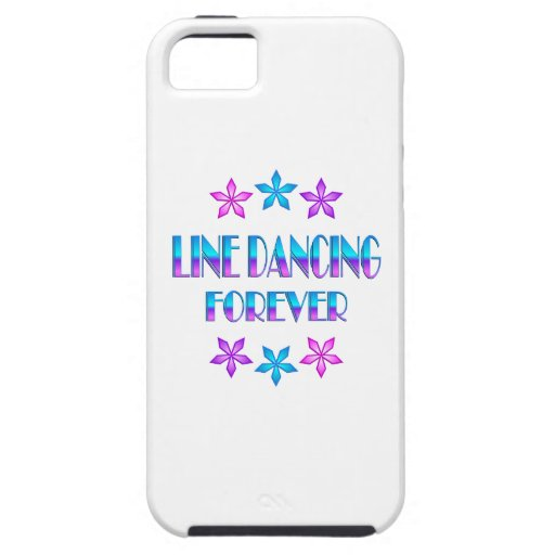 Line Dancing Forever iPhone 5 Cover