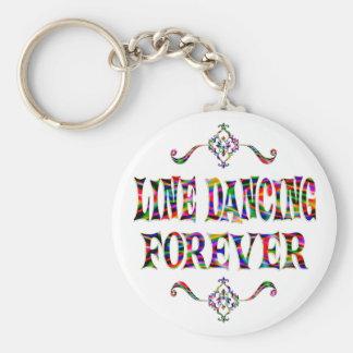 Line Dancing Forever Key Ring