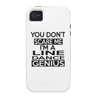 LINE DANCING GENIUS DESIGNS iPhone 4 CASE