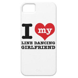 line dancing Girlfriend designs iPhone 5 Cover