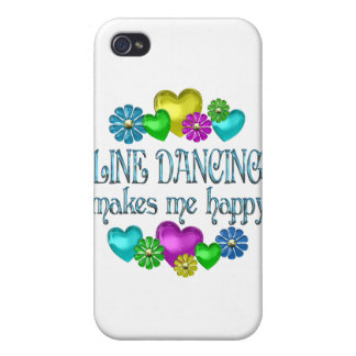Line Dancing Happinness Cover For iPhone 4