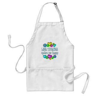 Line Dancing Happinness Standard Apron