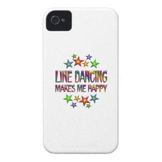 Line Dancing Happy Case-Mate iPhone 4 Case