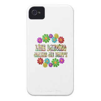 Line Dancing Happy iPhone 4 Covers