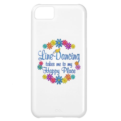 Line Dancing Happy Place iPhone 5C Case