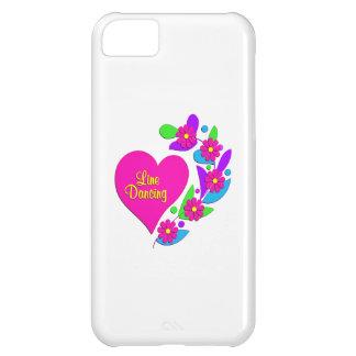 Line Dancing Heart iPhone 5C Cases
