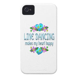 Line Dancing Heart Happy iPhone 4 Case