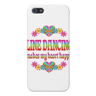 Line Dancing Heart Happy iPhone 5 Cases