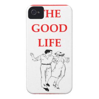 line dancing iPhone 4 Case-Mate case