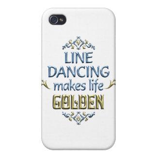 Line Dancing is Golden iPhone 4/4S Case