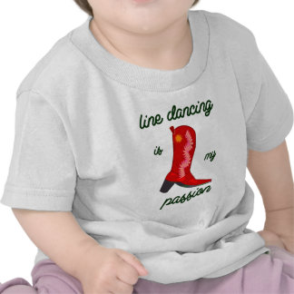 line dancing is my passion tshirt